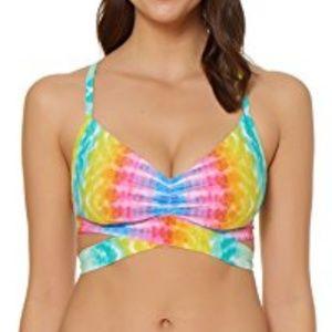Other - Shirred D-Cup Bikini Top